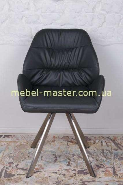 Черное мягкое кресло TENERIFE, Николас