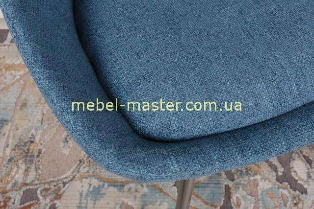 Синяя ткань стула Толедо, Николас