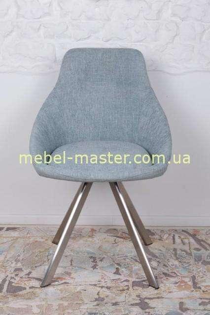 Серый стул Толедо в ткани.
