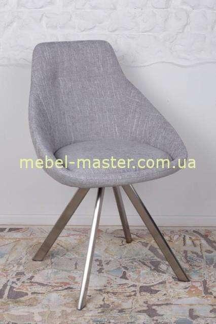 Серый стул Толедо в стиле модерн, Николас