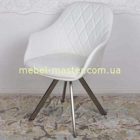 Мягкое белое кресло Алмерия, Николас