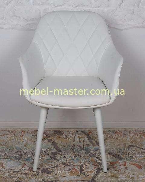 Белый стул-кресло ZARAGOZA, Николас