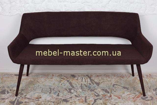 Кресло - банкетка BARCELONA в коричневом цвете, Николас