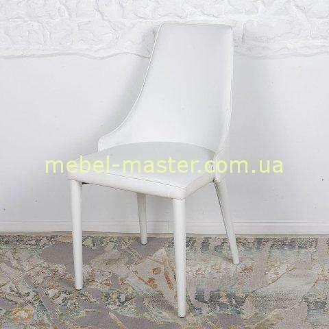 Белый тканевый стул Берлин, Николас