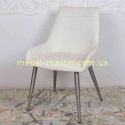 Белый стул из экокожи VIRGINIA , NICOLAS
