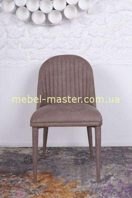 Коричневый мягкий стул FRANKFURT