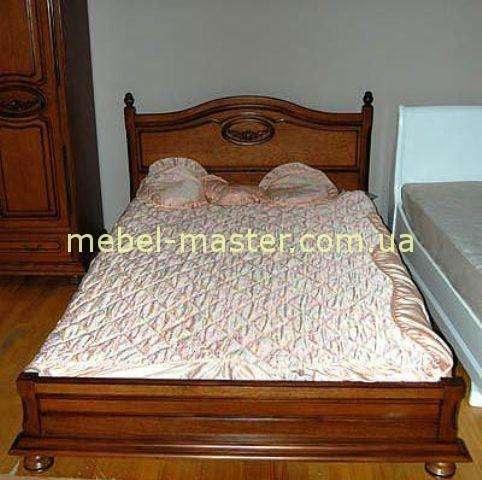 Деревянная кровать из массива Валентина, Симекс