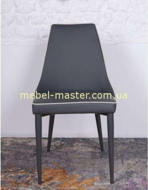 Недорогой серый стул Берлин. Обивка ткань.