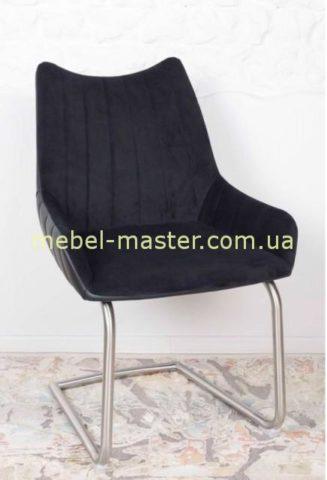 Мягкий стул из велюра Корона