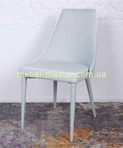 Модерновый стул в голубой тканевой обивке Берлин, Николас
