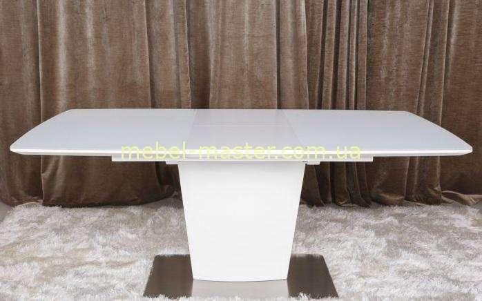 Белый обеденный модерновый стол Чикаго, Николас