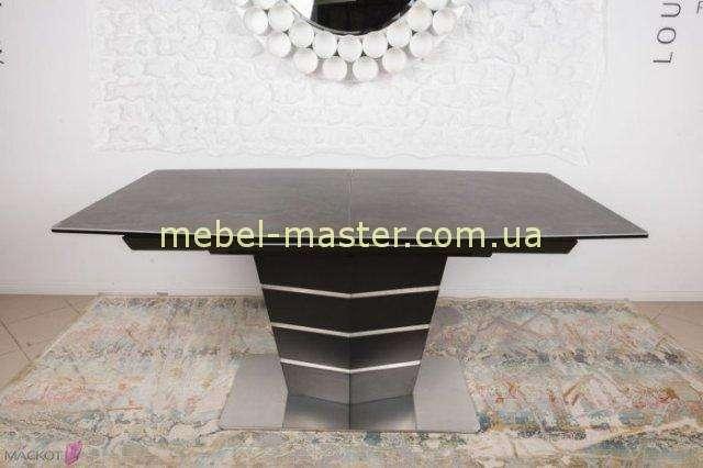 Недорогой коричневый стол со стеклокерамикой Балтимор, Николас