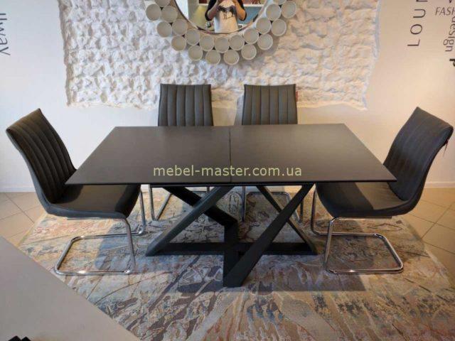 Модный черный стол FLETWOOD, Николас