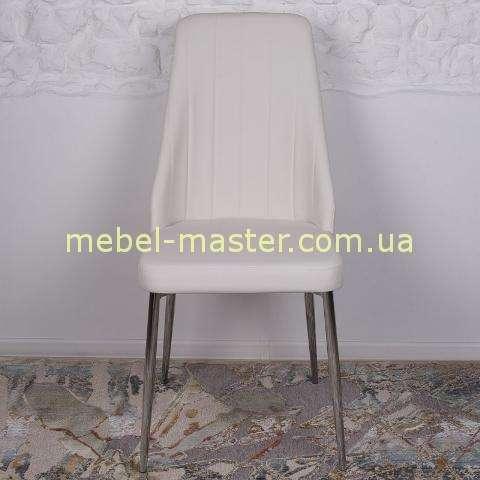 Белый стул из экокожи Кросби для ресторана