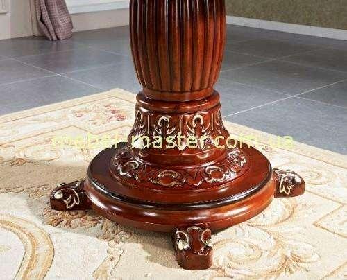 Декоративная нога стола Р 96 с золотой патиной