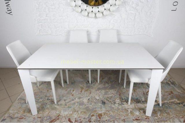 Недорогой белый раскладной стол Ливерпуль 3 метра, Николас