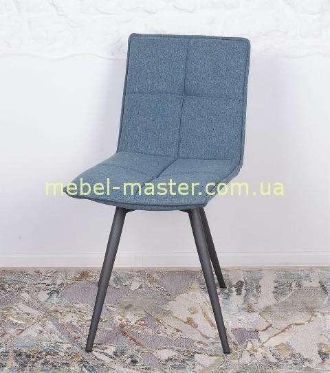 Недорогой синий стул в текстильной оббивке Мадрид, Николас