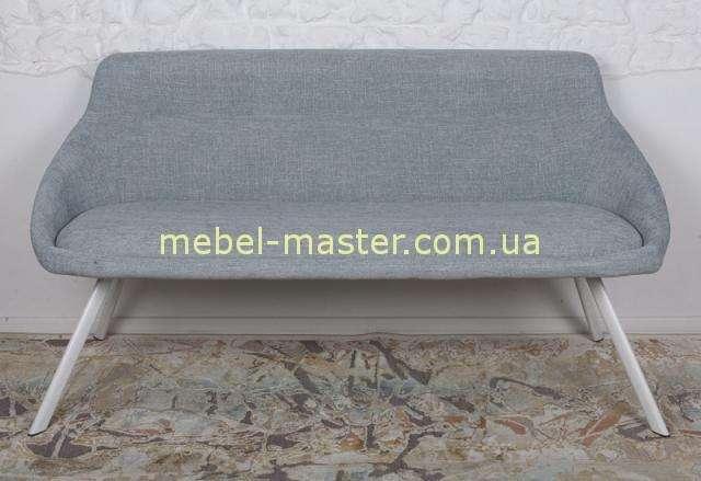 Светло-серый диванчик TOLEDO из текстиля, Николас