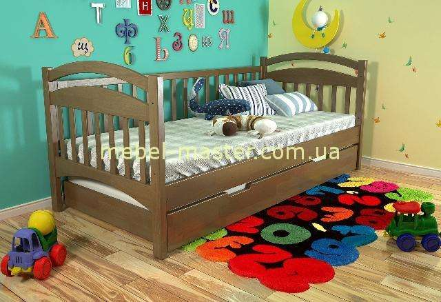 Деревянная кроватка для деток Алиса, Украина