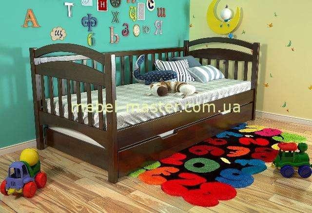 Детская деревянная кроватка Алиса, Мадера