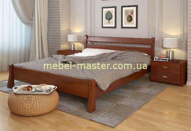 Деревянная кровать с твердым изголовьем Венеция, Арбор