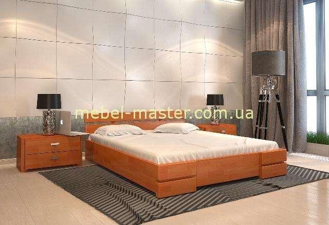 Кровать из массива дерева с подъемным механизмом Дали, Арбор