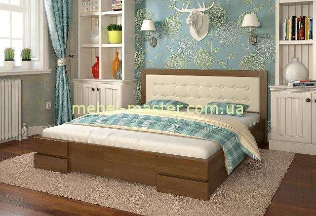 Двухспальная кровать из массива дерева Регина, Арбор