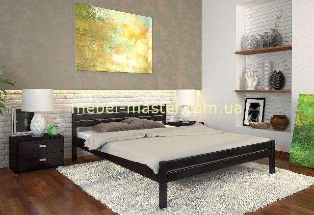 Деревянная кровать в цвете венге Роял, Мадера