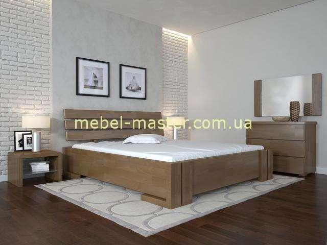 Кровать из массива бука Домино, Украина
