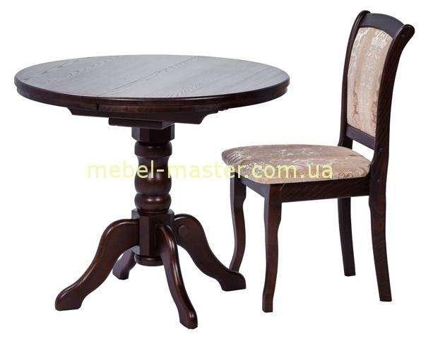 Недорогой стол обеденный деревянный Корнет, Румерин