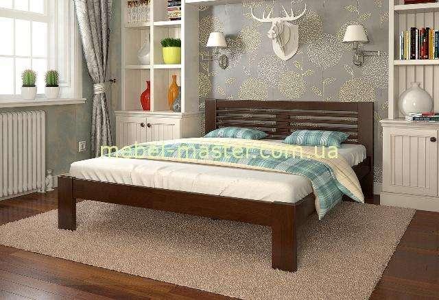 Кровать Шопен в цвете орех.