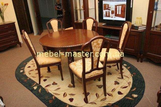 Классический круглый обеденный стол Париж, Мобекс