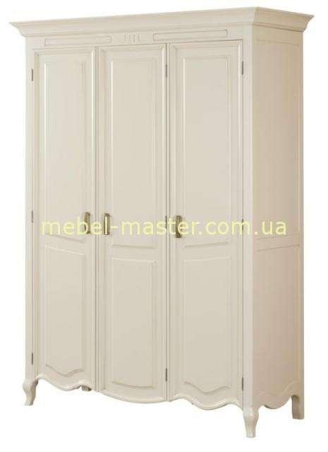Белый трехдверный шкаф Ирис, Мобекс, Румыния