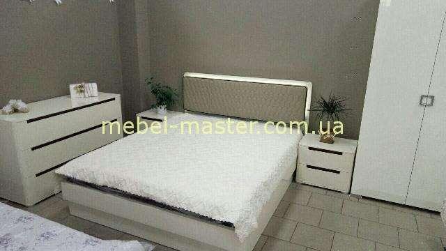 Набор мебели для спальни в цвете капучино, Кристал, Аквародос