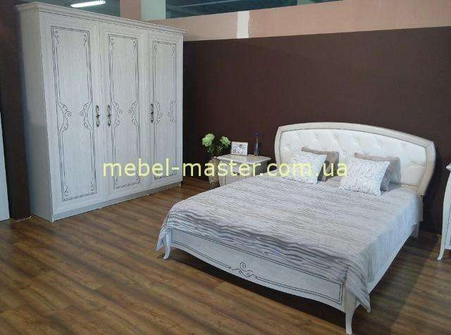 Белая классическая мебель для спальни Сан Ремо, Аквародос, Украина