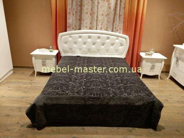 Белая глянцевая кровать Сан Ремо, Аквародос