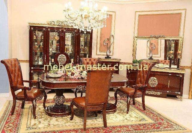 Мебель в гостиную Эрмитаж в темном цвете, Джосс