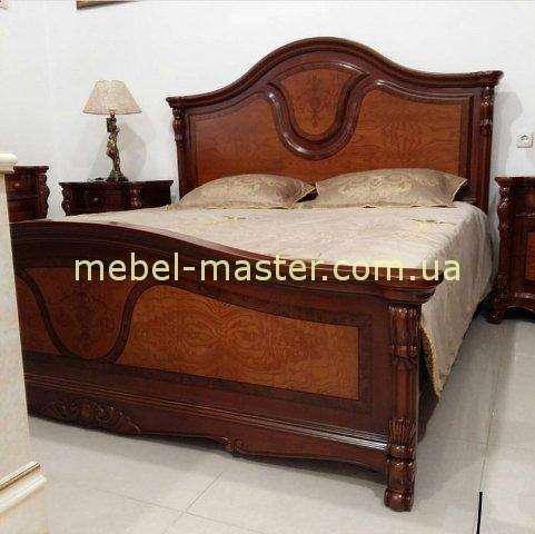 Ореховая мебель для спальни из натурального дерева Ангелина, Аванти