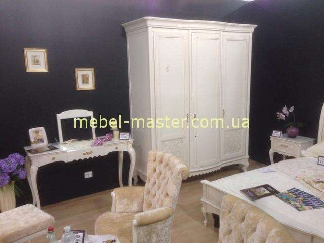 Белый классический шкаф Маттео, Румыния, Мобекс