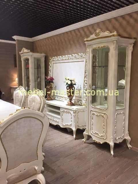 Витрины и ТВ тумба для гостиной комнаты Людовик, Энигма