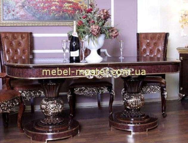 Обеденный раскладной стол Эрмитаж, Орех