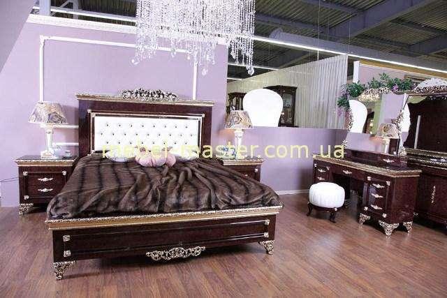 Кровать с королевским изголовьем Эрмитаж, Джосс