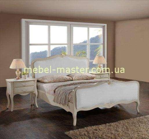 Белая кровать в спальню Богемия, Домини