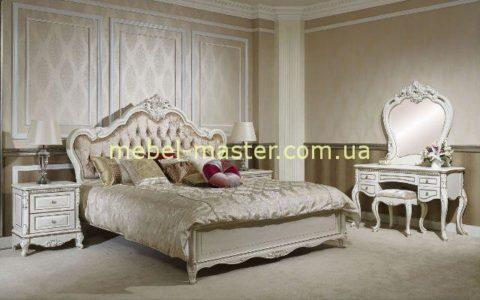 Белый мебельный гарнитур Кармен, Беллини