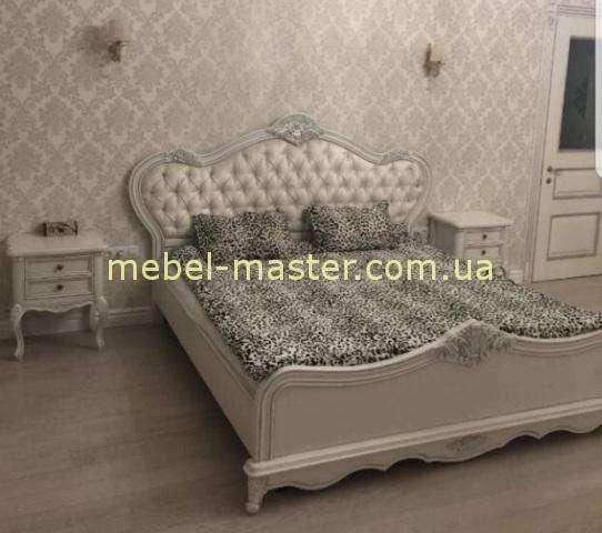 Кровать Сафина с серебряной патиной, Италкоонцепт
