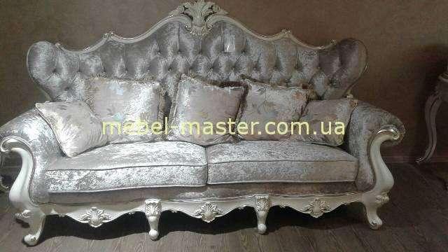 Мягкий диван со стяжкой капитоне Версаль, Энигма