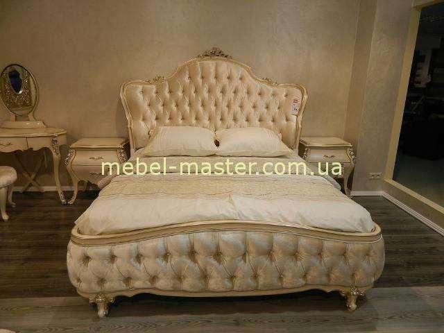 Грациозная кровать с мягким изголовьем, Энигма