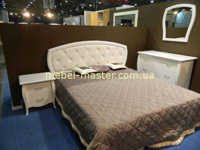 Недорогая белая мебель для спальни Сан Ремо, Аквародос