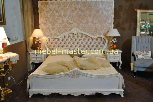 Белая мебель для спальни Сафина, Италконцепт