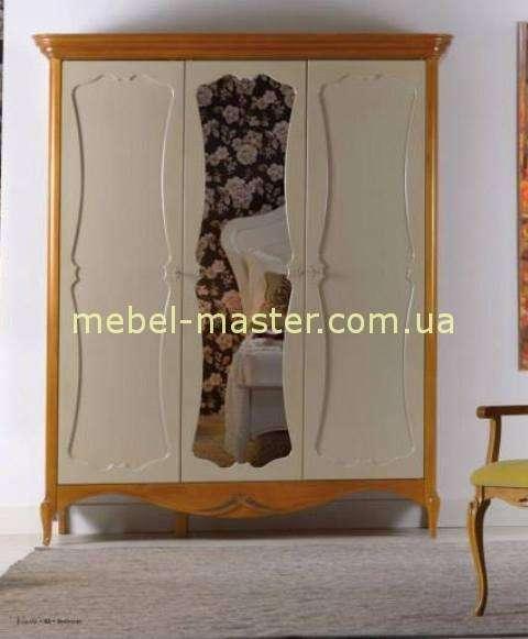 Комбинированный трехдверный шкаф для одежды Венетта, Мобекс